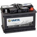 Batterie Varta  Promotive BLACK 12V D33